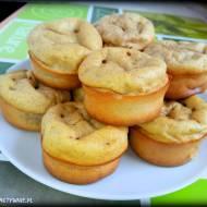 Muffiny z bananem i masłem orzechowym