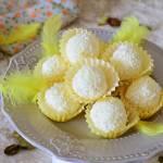 Mleczno cytrynowe trufle w kokosie