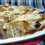 Tarta z serem feta i kurczakiem