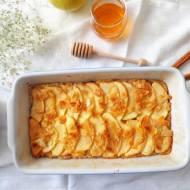 Jaglana zapiekanka z jabłkami, bez glutenu i jaj (Sformato di miglio e mele, senza glutine e uova)