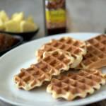 Gofry drożdżowe – wafle z ciasta drożdżowego