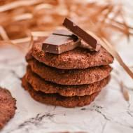 kakaowo-sezamowe ciastka z ciecierzycy // cocoa tahini chickpea cookies