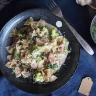 Makaron z kiełbasą i brokułami / Sausage and broccoli pasta