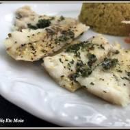 Soczysta ryba gotowana na parze