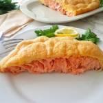 Łosoś zapiekany w cieście (Salmone al forno in crosta)