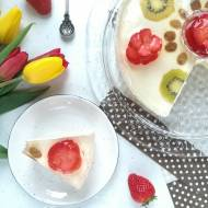 Ciasto z kremem limonkowym