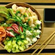 Piątek: Sushi bowl, czyli sushi bez zawijania