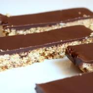 Batony owsiane z czekoladą :)