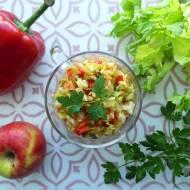 Surówka z selera naciowego wg diety dr Dąbrowskiej – przepis krok po kroku