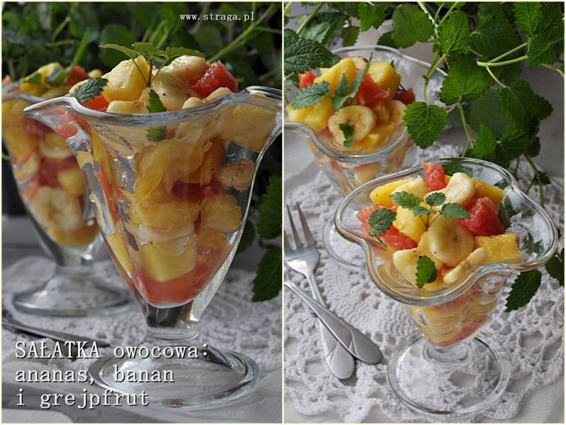 Błyskawiczna sałatka owocowa