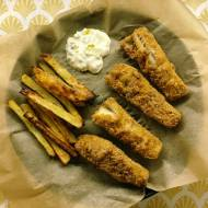 Fish and chips z pieca