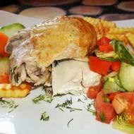 Kurczak zagrodowy pieczony