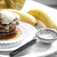 Placuszki jaglano – bananowe