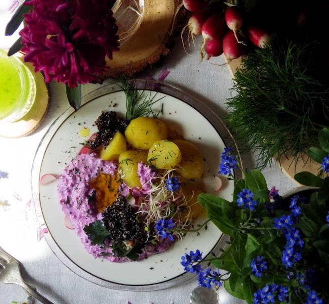 Pyry z wiosennym gzikiem bez laktozy