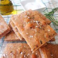 Bezglutenowa focaccia z mąki gryczanej i ryżowej (Focaccia senza glutine con farina di grano saraceno e farina di riso)