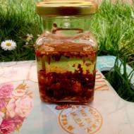 Olej aromatyzowany smażoną cebulą.