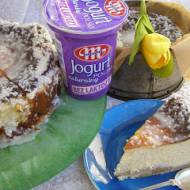 sernik cytrynowo-kokosowy na jogurtach bez laktozy...