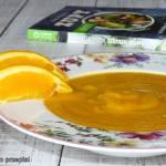"""Pikantna zupa z dyni z imbirem i kardamonem oraz recenzja książki """"Zdrowe zupy"""""""