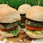 Środa: Burgery z czerwonej fasoli i boczniaków