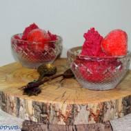 Deser buraczano - truskawkowy