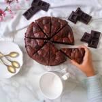 Czekoladowo-sernikowe brownie (Brownie marmorizzato al cheesecake)