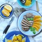 Kalafior z carry i kurkumą do kaczki lub bakłażana