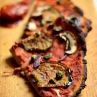 Bezglutenowa pizza sycylijska