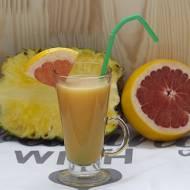 Koktajl ananasowo – grejpfrutowy  na przyspieszony metabolizm