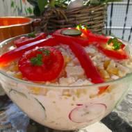 Wiosenna sałatka warzywna