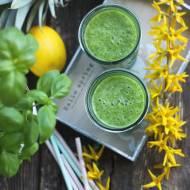 Zielone smoothie ANANAS+CYTRYNA+SZPINAK+BAZYLIA