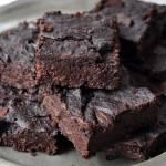 Brownie z fasoli (wegańskie, bezglutenowe)