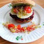 Buraczane burgery