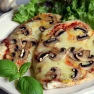 Filety z kurczaka a'la pizza