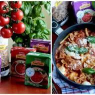 MAKARON Z PATELNI A'LA CAPRESE – Z MOZZARELLĄ I POMIDORAMI- kuchnia włoska
