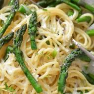 Spaghetti ze szparagami czyli włoskie jedzenie!