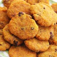 Ciasteczka marchewkowo-bananowe (paleo/AIP, bez jajek)