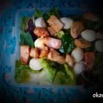 Sałatka z kurczakiem i mozarellą