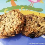 Owsiane ciasteczka - bez cukru, bez jaj, bez maki