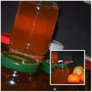 syrop z mniszka lekarskiego z mandarynka i jablkiem