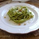 Spaghetti z pesto (pesto alla genovese)