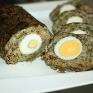 Pieczeń rzymska z pieczarkami i jajem :)