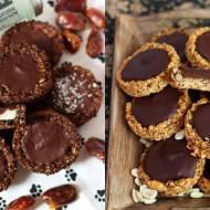 Ciasteczka zbożowe nadziewane kokosem i daktylami (bez glutenu, cukru białego, laktozy, wegański)