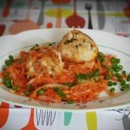 Zrazy ryżowe z warzywami
