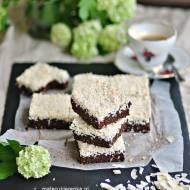 Ciasto kakaowo – kokosowe z pestkami bez cukru, bez glutenu, wegańskie
