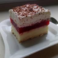 ciasto 3 bit truskawkowy
