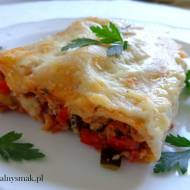 Cannelloni z mięsem mielonym i warzywami