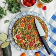 Pieczony omlet z warzywami