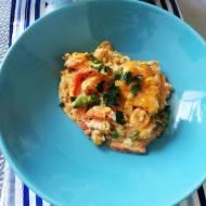 Zapiekanka z Batata ,warzyw i kurczaka