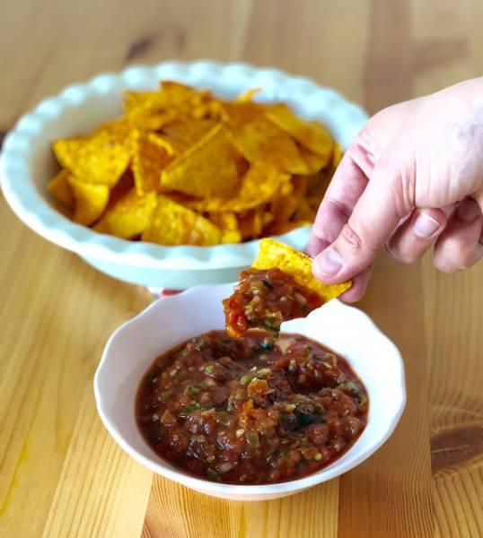 Podstawowa, meksykańska salsa