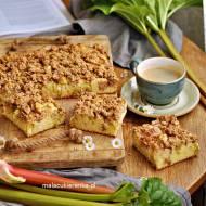 Ciasto z rabarbarem i kruszonką II